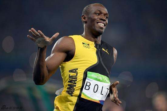 博尔特奥运百米三连冠 触手TV也与你一起挑战奥运极限!