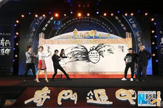 """奇幻揭秘:徐克被�Q""""外星人""""�F��]毫""""大�l蟹"""" 12月15日奇幻之王�K�O揭��"""
