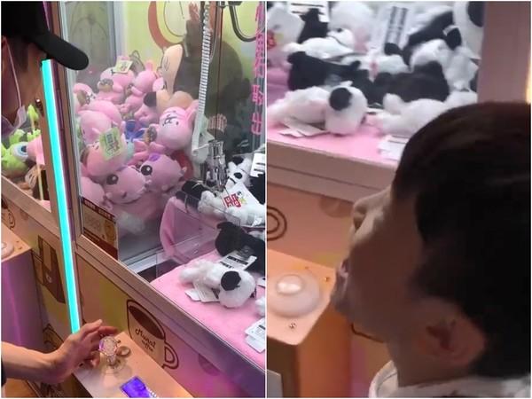 辰亦儒夹娃娃