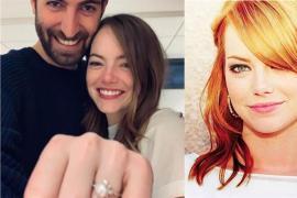艾玛史东订婚了!与男友甜蜜晒大钻戒
